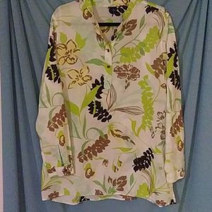 Women's Gap extra large pullover hippie like shirt